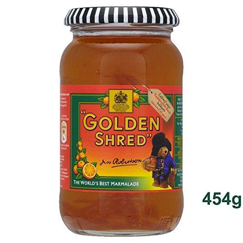 Robertson's Golden Shred Marmalade 454g - geschmackvolle Orangenmarmelade