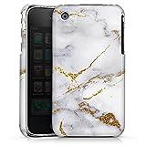 DeinDesign Coque Compatible avec Apple iPhone 3Gs Étui Housse marbre Naturmaterialien UtArt