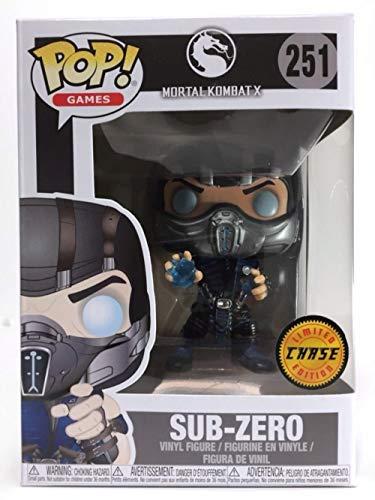 Funko Mortal Kombat - Sub-Zero Chase Pop! Vinyl Figure #251