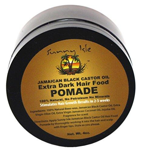Sunny Isle Jamaican Extra Dark Pomade 4oz (3 Pack)