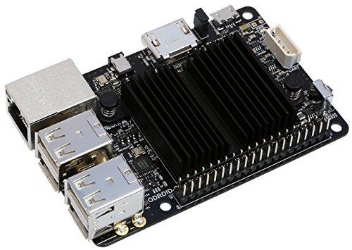 Hardkernel–C2einplatinen de Ordenador, procesador Quadcore de 1,5GHz, 2GB RAM, 4x USB