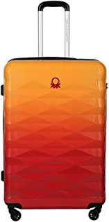 United Colors of Benetton Ombre Polycarbonate 70 cms Red Hardsided Check-in Luggage (0IP6MP28HL04I)