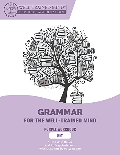 Key to Purple Workbook: A Complete Course for Young Writers, Aspiring Rhetoricians, and Anyone Else Who Needs to Understand How English Works (Grammar for the Well-Trained Mind)