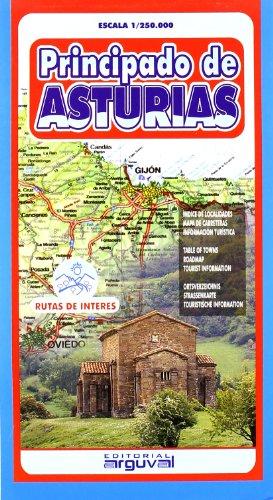 Mapa de Asturias (MAPAS DE CARRETERAS)
