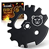 BBQ Grill Scraper Cleaner Men Gifts - Grate Grilling Camping Accessories Christmas Stocking Stuffers Birthday Cool Tool Gifts for Women Dad Mom Chef Kitchen Cleaning Gadgets for Outdoor Indoor Cooking