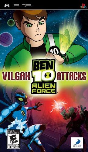 PSP BEN 10: ALIEN FORCE VILGAX ATTACKS [Import américain]