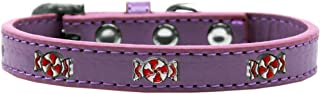 Mirage Pet Products 631-29 LV10 Peppermint Widget Dog Collar, Size 10, Lavender