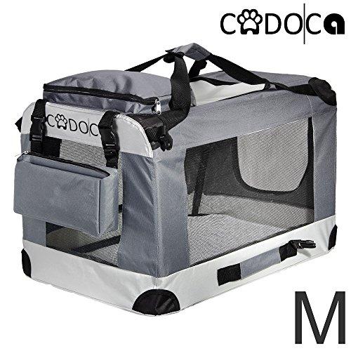 Deuba CADOCA Hundetransportbox faltbar Katzentransportbox Tier Transport Tierbox Größe M