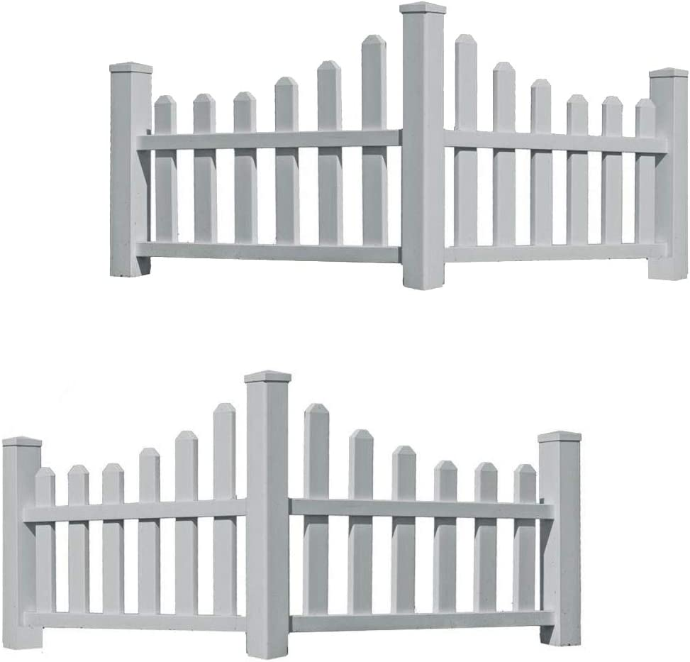 New Large-scale Ranking TOP5 sale England Country Corner Corners Fences 2 Picket