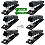 Best Staplers - Stapler, Ezire 6 Staplers with 12000 Staples,20 Sheets Review