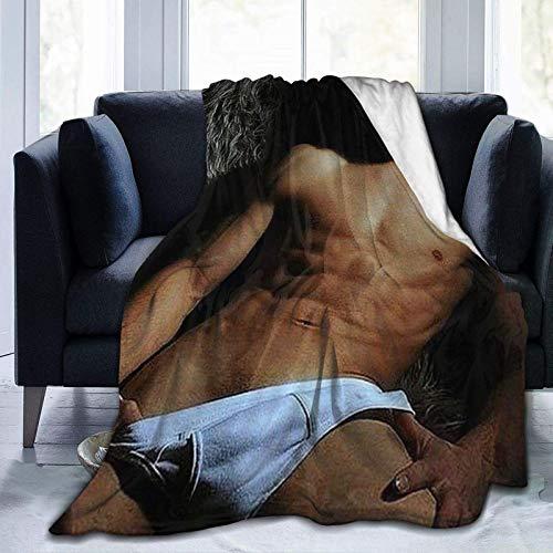 Jared Padalecki Sam Winchester tural Jensen Ackles Dean manta suave, manta de cama de felpa ligera, adulto y niño de 152,4 x 127 cm