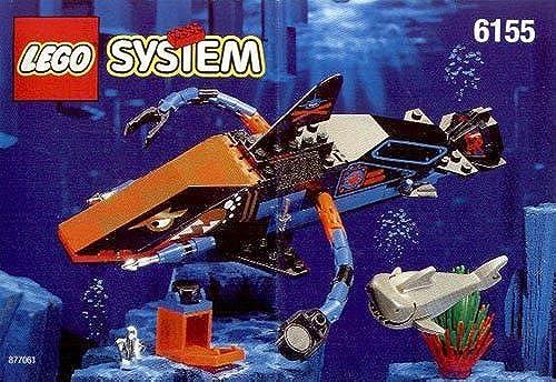 LEGO System Aquasharks 6155 Aquashark Seeungeheuer