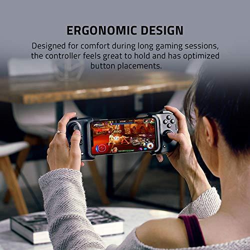 Razer Kishi für iOS (iPhone) – Smartphone Gaming Controller (USB-C Anschluss, Ergonomisches Design, Individuelle Passform, Analog-Stick, Ultra niedrige Latenz) Schwarz - 5