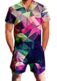 Men Rompers 3D Funny Graphic...