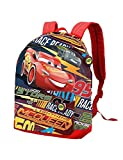Karactermania Cars 3 Race Mochila Tipo Casual, 42 cm, 21 litros, Rojo