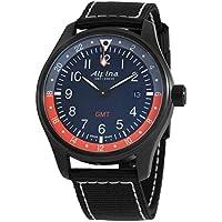 Alpina Startimer Pilot GMT Black PVD Men's Watch