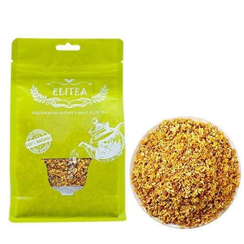 ELITEA 4oz Dried Osmanthus Flower Herb Loose Leaf Tea 100% Fragrant Natural Herbal Tea 115 g