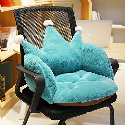 YJZQ - Cojín para silla, diseño de corona
