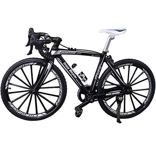 Tongdejing Finger Bikes, mini bici da corsa, mountain bike, modellino da scrivania, decorazione da tavolo, giocattolo per bambini, ragazzi e ragazzi