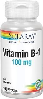 Solaray Vitmin B-1 100mg   100 VegCaps
