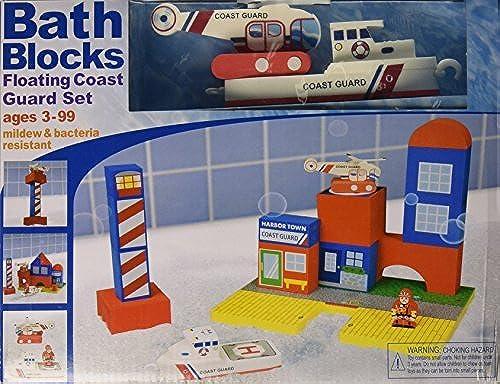 BathBlocks Floating Coast Guard Set by BathBlocks