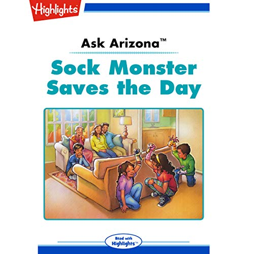 Ask Arizona: Sock Monster Saves the Day cover art