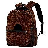 Staroutah sac d'école randonnée Sac à dos pour ordinateur portable décontracté Haute capacité et extérieur Apprendre Viking celtique nordique pour femme et homme