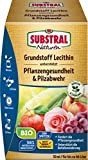 Substral Naturen Bio Grundstoff Lecithin Konzentrat unterstützt Pflanzengesundheit, Pilzabwehr + Befallsminderung, 50ml