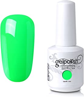Elite99 Soak Off UV LED Gel Polish Nail Art Manicure Nail Polish Lacquer 15ml white (033)