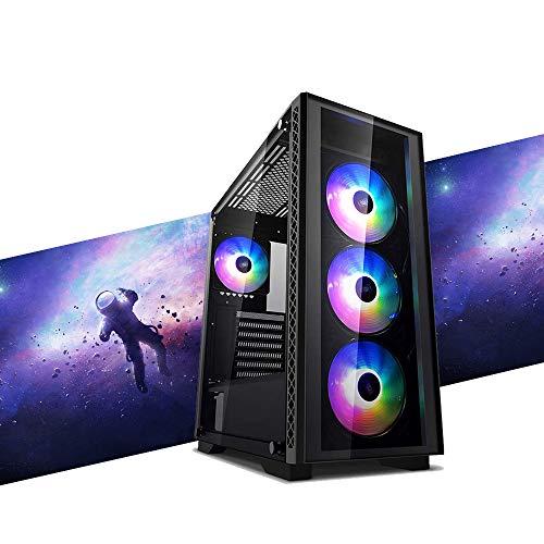 MAK CATASTROPHE - Ordenador Gaming RYZEN 3 3100 3,90 GHz, GTX 1650 4 GB STRIX, SSD Nvme 250 GB + HDD 2 TB, RAM 8 GB 3200 MHz, ordenador de gaming DESKTOP, Windows 10 PRO