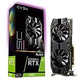 EVGA GeForce RTX 2060 SC Ultra Black Gaming, 06G-P4-2065-KR, 6GB GDDR6, Dual HDB Fans