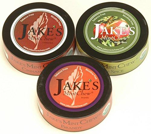 Jake's Mint Chew - Cinnamon, Apple Spice, Brandy - Tobacco & Nicotine Free!