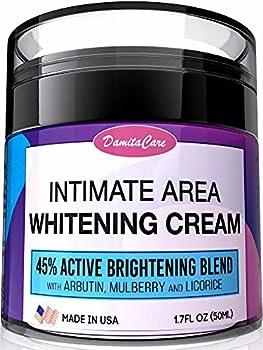 Intimate Whitening Cream - Skin Lightening Gel for Body Face Bikini and Sensitive Areas - Underarm Bleaching Cream
