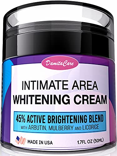 Intimate Whitening Cream - Skin Lightening Gel for Body, Face, Bikini...