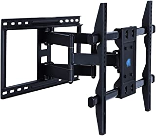 TV Stand Full Dynamic Monitor Rotating Wall Mount Indoor HDTV Telescopic Articulated Arm VESA Up to 400 * 400mm (Color : B...