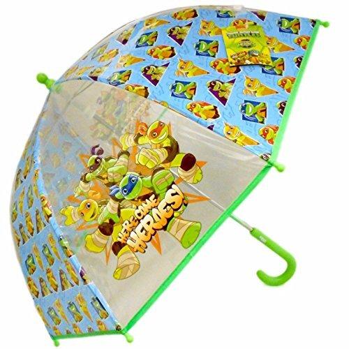 TMNT Teenage Mutant Ninja Turtles Kuppel Bubble Regenschirm Kinder Reise Regenschirm