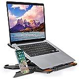 TopMate Soporte para computadora portátil con Base giratoria de 360 ° Elevador portátil para...