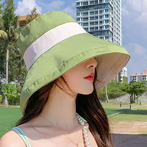 QPB Sombrero de Cubo de Paja Skullies Moda Caza SafariHombres Sombrero de...