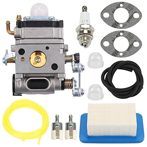 POEMQ Carburetor Air Filter Kit for Echo PB-500H PB-500T 50.8cc Gas Backpack Power Blower Replace A021001642 A021001641 Walbro WLA-1 Carb with Gasket Spark Plug Primer Bulb