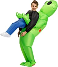 Poptrend Inflatable Alien Hold me Costume Inflatable Costumes Halloween Costume Blow Up Costume