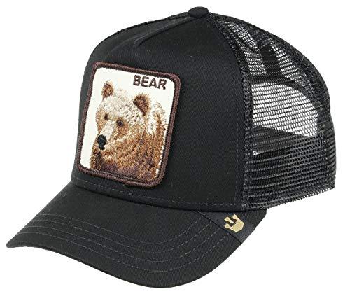 Goorin Bros Trucker Cap Big Bear, Gorra, Negro (Black), Talla Única