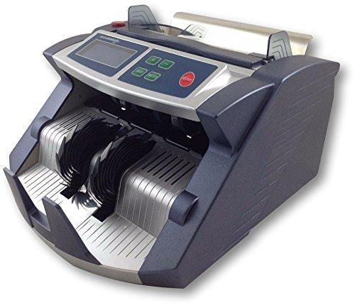 AccuBANKER AB1100PLUS Commercial Digital Bill Counter Hopper Capacity 200 Bills & Speed of 1,300 Bills/min Money Counter…