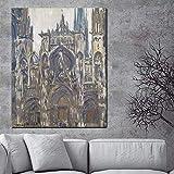 Bilddrucke 50x70cm ohne Rahmen Claude Monet Notre Dame De