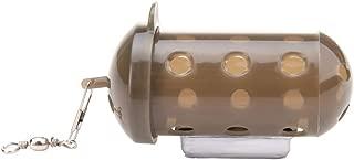 Ogquaton Alimentador de Pesca de Carpa Cebo Jaula Señuelo Dispositivo de fosa con Pellet Durable y útil