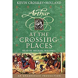 At the Crossing Places audiobook cover art
