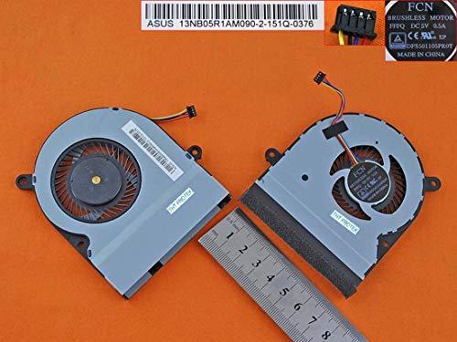Kompatibel für ASUS TP500, TP500LA, TP500LN, TP500LB Lüfter Kühler Fan Cooler