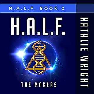 H.A.L.F. audiobook cover art