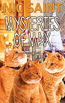 The Mysteries of Max: Books 43-45 (The Mysteries of Max Box Sets Book 15) by [Nic Saint]