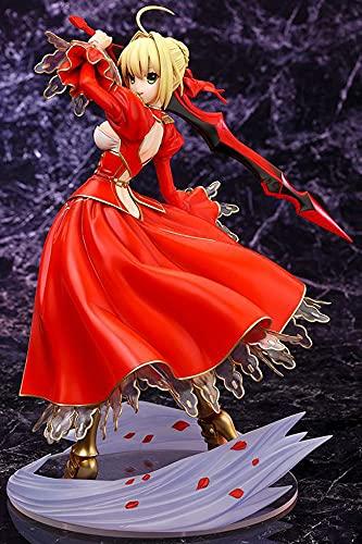GKLHC Fate Night Red Saber SEBA Nero Tyrant Anime Figuras Modelo Estatua PVC Figura Juguete Decoraciones Coleccionables