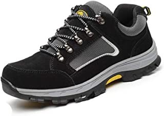 SHANLEE Men's Safety Shoes Puncture Safety Shoes Breathable wear Non-Slip Shoes